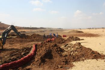 Construction at Sun Valley to lengthen the course for SA Golf Course Affiliation